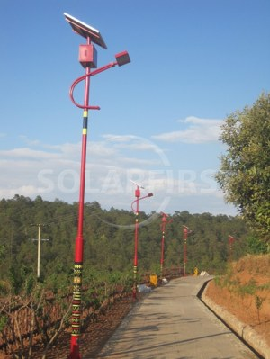 Solar powered led street light/ solar flood lights