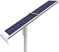 Réverbères solaires de 12V DC 4000lm LED, auto nettoyant les réverbères actionnés solaires