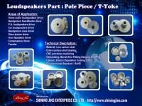 Parties pour haut-parleurs: T-Yoke