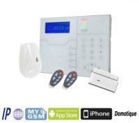 PANNEAU D'ALARME HOME SMART HOME TCP / IP