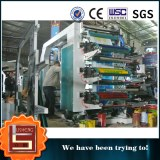 Stack Type 6 Colors Flexographic Film Printing Machine Each Side 3 Colors