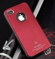 A.J Coque en metal Super Fine Coque rigide pour iPhone 5