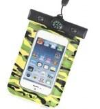 Camouflage Pochette étanche universelle avec le boussole pour iPhone 5 iPhone 4/ 4S