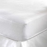 Etanche Bed Bug Anti Terry Matelas encasements (Couvre-matelas avec fermeture éclair)