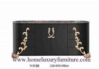 Les meubles classiques de table de décoration de buffets de buffets de table secouent...