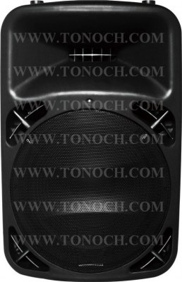 THB 12/15 BU Series Active Speaker Box with 2 MIC INPUT in It