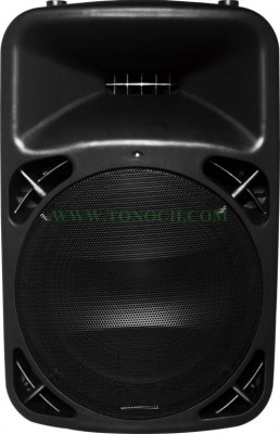 THB 12/15 BU Series Active Sound Box with 2 MIC INPUT in It