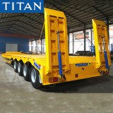 How to choose the right low flatbed lowbed trailer?