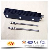Titanium anode for swimming poor dinsfection