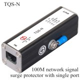 100M network signal surge protector with single port