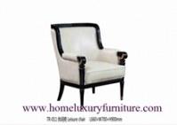 Le coussin en bois de tissu de meubles de chaises préside diner les chaises classiques...