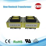 E4214 type low frequency silicon steel transformer manufacturer PCB mount transformer