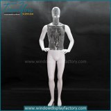Plastic ghost invisible mannequin male for sale