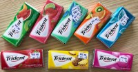 Trident chewing-gum