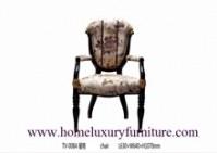 Les meubles en bois solide président des meubles de salle à manger dinant les chaises...