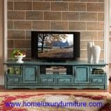 La TV tient la table en bois JX-0961 de salon de meubles de la Chine de coffrets en boi...