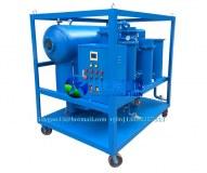 Machine de purification d'huile de turbine à vide à haute efficacité