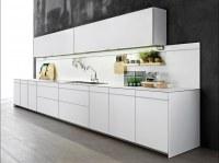 United States Modern White PVC Cabinet Kitchen