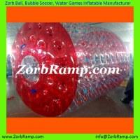 Water Roller, Inflatable Roller, Zorb Rolling Ball, Hamster Wheel   ZorbRamp.com