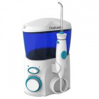 Home use oral irrigator with ten setting for oral hygiene
