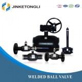 JKTL heating system dn40 water ball valve