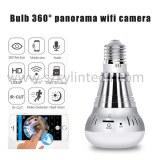 Wifi ampoule caméra 360 degrés fisheye caméra panoramique