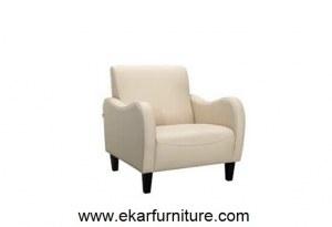 Leahter canapé Chaise Arrière latéral chaise moderne YX020