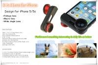 3-in-1 external Phone Lens