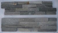 Cyan Wood-Grain Ledges Stone