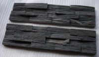 Black Slate Ledges Stone
