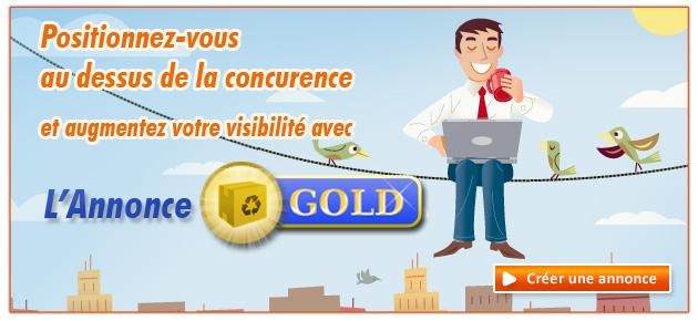 Annonce GOLD Algomtl